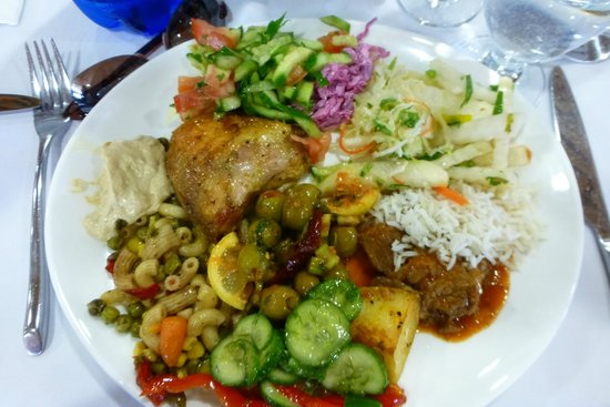 Nof Ginosar Hotel: Selections from the lunch buffet