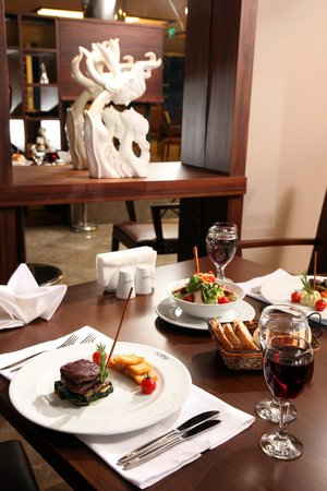 Notte Hotel : restaurant