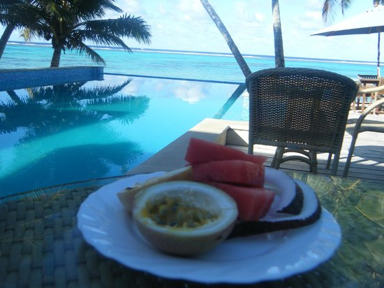 Little Polynesian Resort: Breakfast