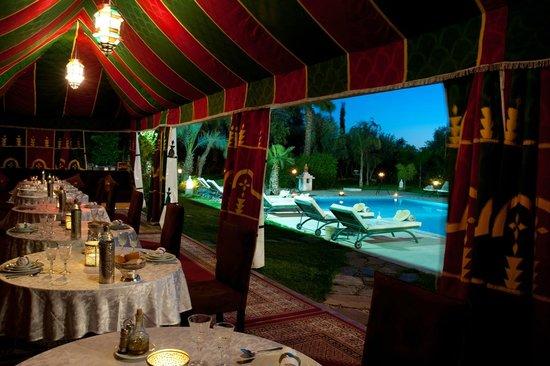 Dar Ilham: restaurant