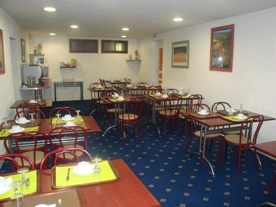 Hotel Aer : Salle petit déjeuner