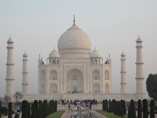 Taj Mahal: marble