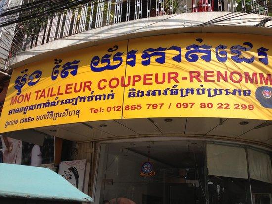 Mon Tailleur, Phnom Penh