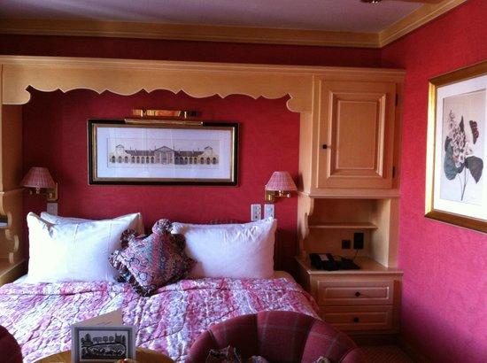 Gstaad Palace Hotel : urgemütliches Doppelzimmer