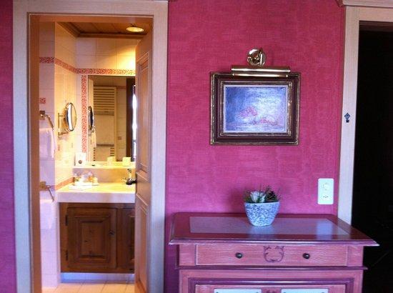 Gstaad Palace Hotel: unser gemütliches Zimmer