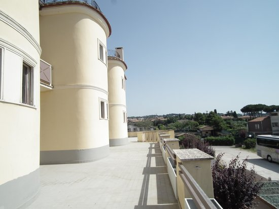 Domus Park Hotel: Terrazza