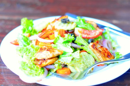 The Lazy Dog: Chicken salad