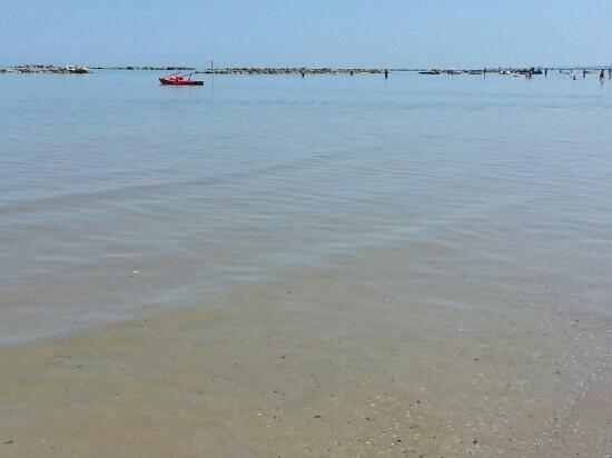 Lungomare di Montesilvano: il mare