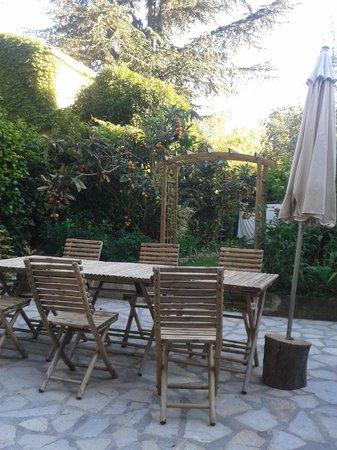 L'îlot Bambou : Breakfast area
