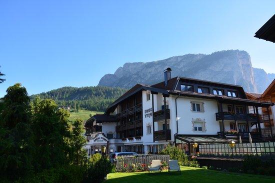 Hotel Tyrol: Dal prato