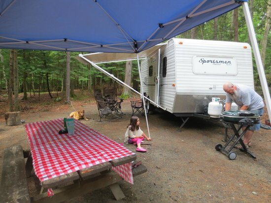 Lily Bay State Park: Campsite 228