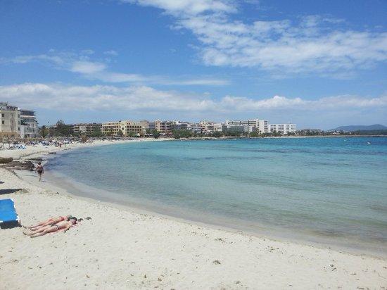 Playamar: The beach area