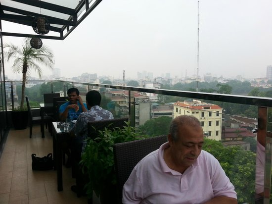 Authentic Hanoi Hotel: Breakfast with a View