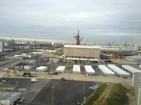 Staybridge Suites London-Stratford City: View of Olympic Village from room