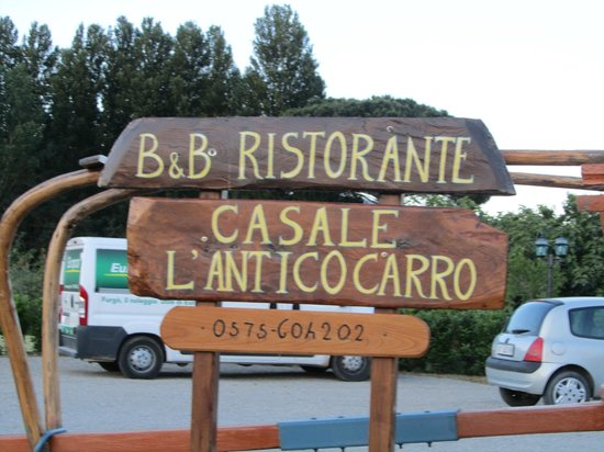 Casale L'Antico Carro: Magnificent Dining Experience