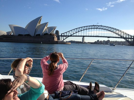 Sea Sydney Cruises: Opera ouse and bridge