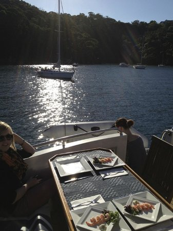 Sea Sydney Cruises: lunch