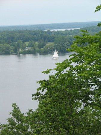 Lake on the Mountain Resort: View of Bay of Quinte