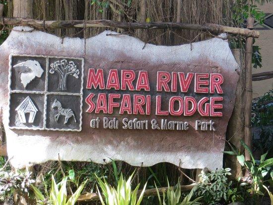 Mara River Safari Lodge : mara sign