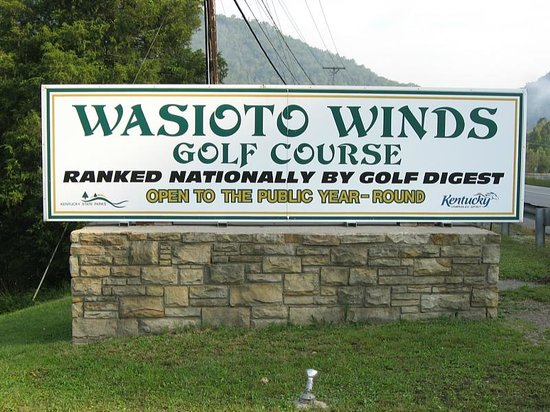 Pine Mountain State Resort Park: Wasioto Winds Golf Course