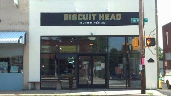 Biscuit Head: Restaurant exterior