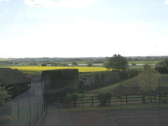 Gayhurst, UK: View from window