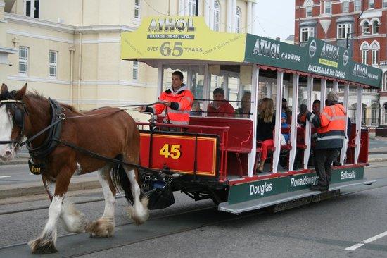 Douglas Bay Horse Tramway: On the Promenade
