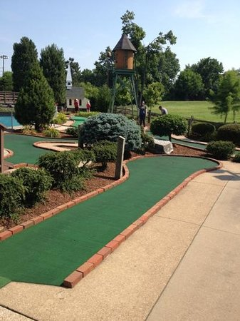 Goofy Golf : The Challenging Links of the Old Town Course