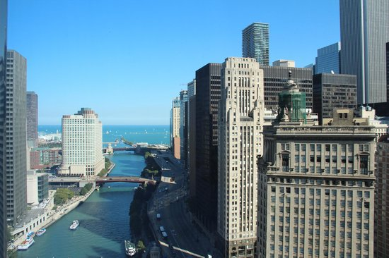 Trump International Hotel & Tower Chicago: View from Room on the 14th floor
