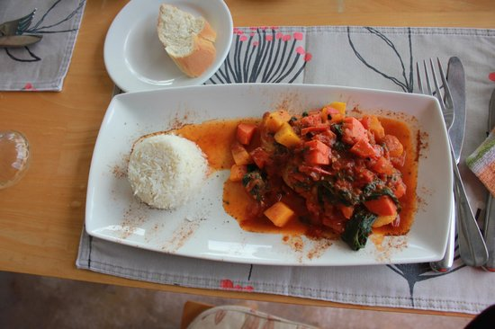 PK's @ Pasquiere Restaurant & Gastropub: Fish Curry