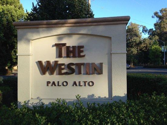 The Westin Palo Alto: Front door