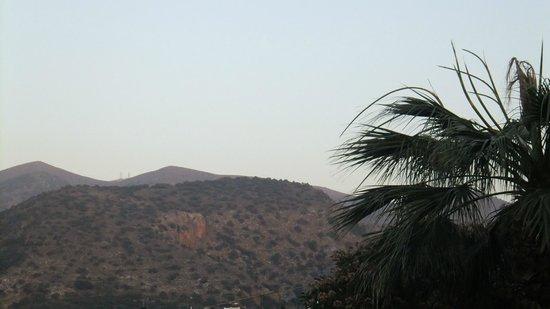 Angelika Aparthotel: vue du balcon