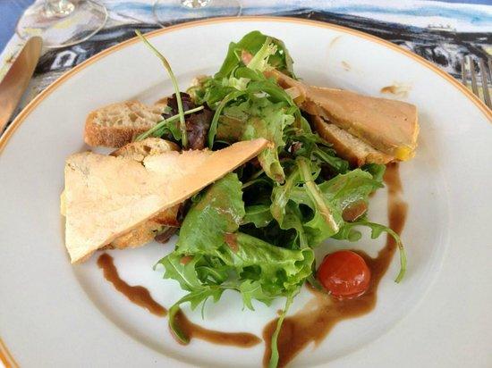 Le Comptoir et la Table: Toast au foie gras