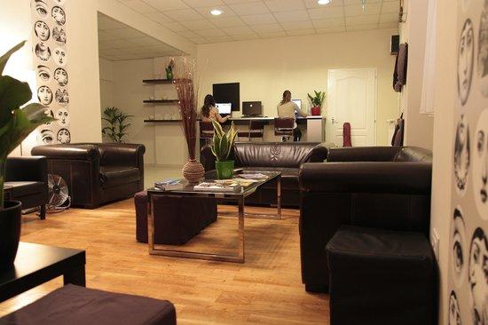 Maverick Hostel: Lobby