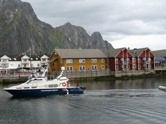 Scandic Svolvaer: Picture of the hotel in Svolvaer, Norway