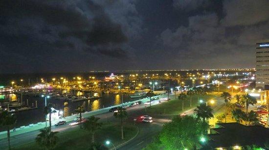 Holiday Inn Corpus Christi Downtown Marina: marina night view