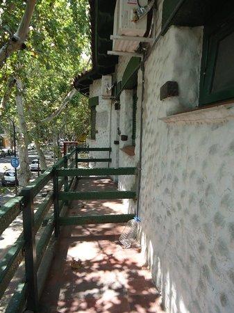 Rincon Vasco: Balcones a la Av. Las Heras