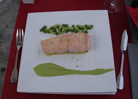 Hotel Restaurant Fabian des Baux : La truite