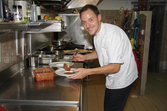 """Hotel Restaurant Fabian des Baux: Le chef """"magicien"""""""