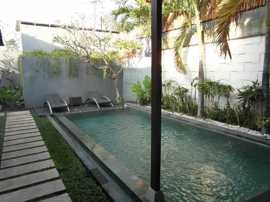 Grania Bali Villas: Private pool
