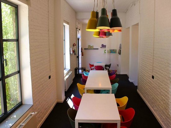 FunKey Hotel : The dining area, for breakfast and round the clock snacking!