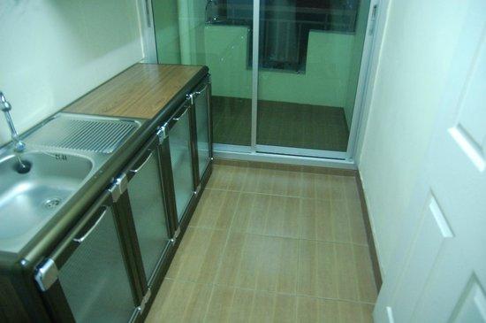 Regent Suvarnabhumi Hotel: The kitchen area