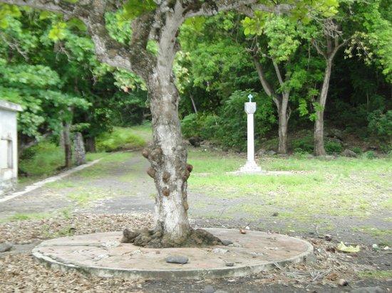 Sao Tome und Principe: Padrão dos Descobrimentos, Monforte, São Tomé e Príncipe.