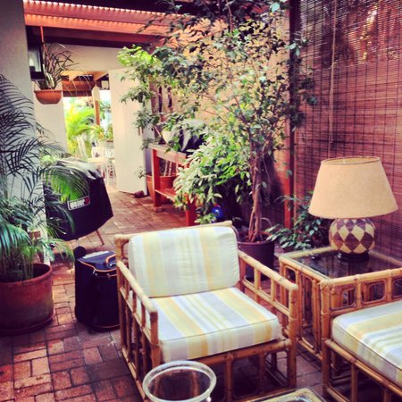 Manaar House Bed and Breakfast: Private patio