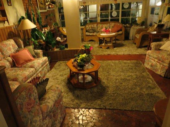 Hotel Ritta Hoppner: Lobby/lounge area