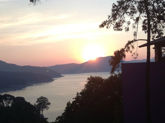 Cabanas Revi Inn: vista desde la cabaña