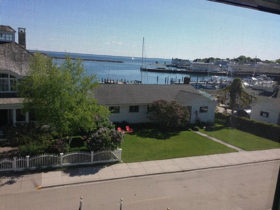 Inn on Mackinac: View from room 400