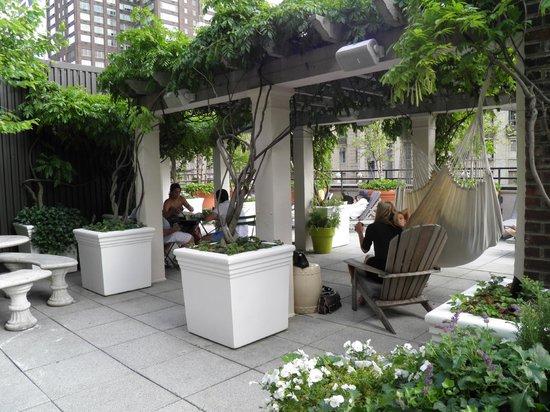 Hudson Hotel New York: Sky Terrace