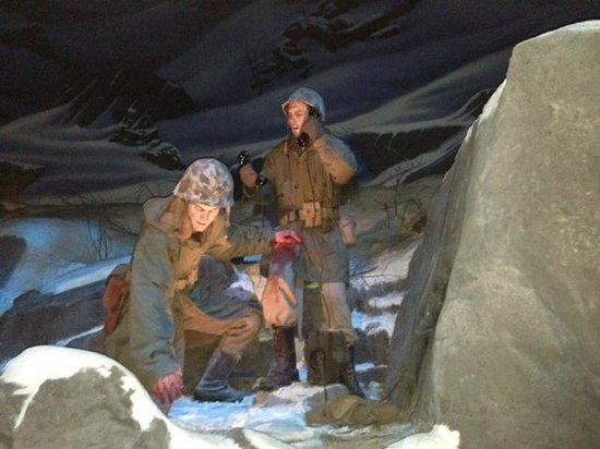 National Museum of the Marine Corps: Diorama