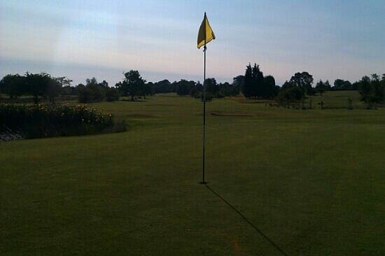 Brandon Golf Course: looking down the 5th at brandon